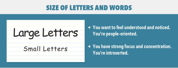 Large letters